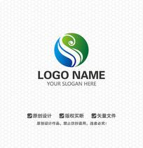 S字母时尚LOGO设计