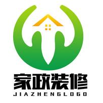 家政房地产装修类logo