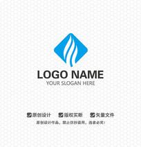 蓝色科技LOGO设计