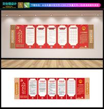 人大代表之家文化墙设计