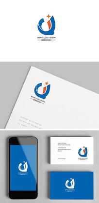 Q字母服务科技电子企业标志