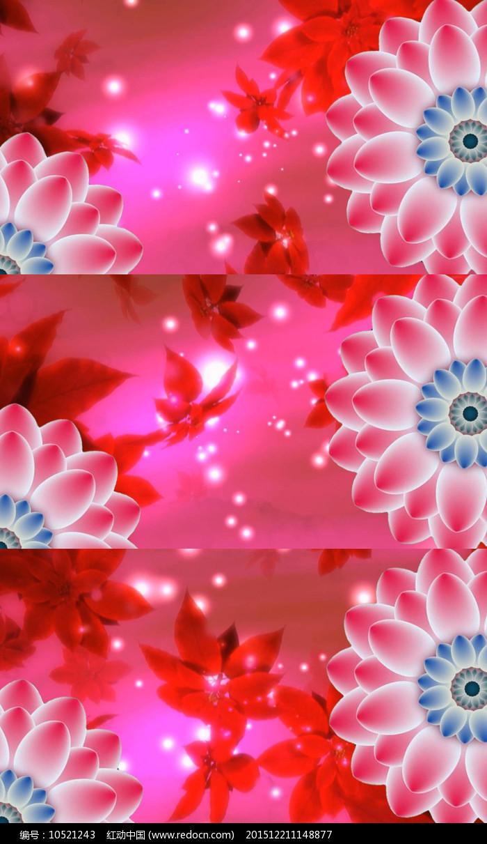 歌曲春天的芭蕾舞台背景视频素材图片