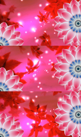歌曲春天的芭蕾舞台背景视频素材