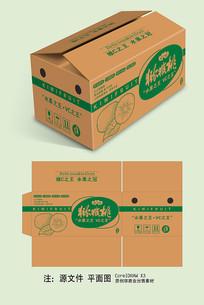 简单猕猴桃牛皮纸纸箱包装