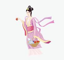 嫦娥仙子高清手绘美女