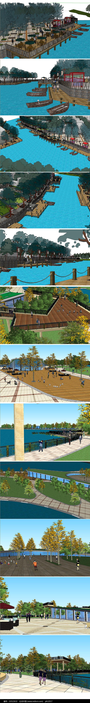 公园广场建筑设计图片