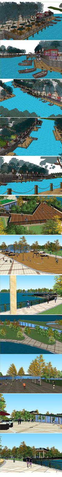 公园广场建筑设计