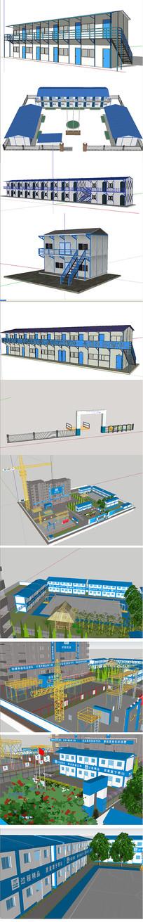 活动板房模型