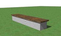 极简景观条凳