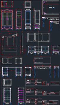 欧式家具CAD