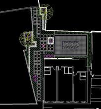 新中式小花园设计图 dwg