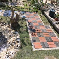 园林庭院小径铺装