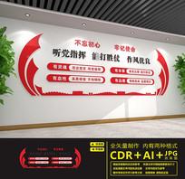 红色党建室党建文化墙