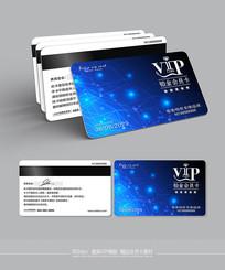 精品最新科技感VIP卡模板