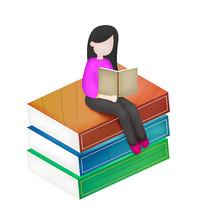 开学季书看书人