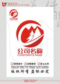 森林林业红木家具LOGO标志设计