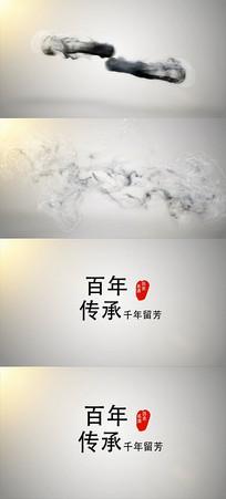 通用中国风水墨AE视频模版