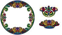 原创元素手绘花式精美边框