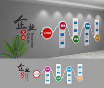 创意中国风文化墙设计