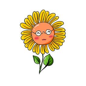 原创向日葵元素