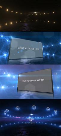 简易平面视频AE模板