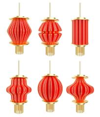 中秋节灯笼装饰