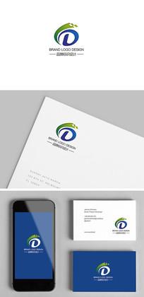 DL创意科技电子企业标志设计