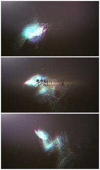 炫彩粒子lgoo视频模板
