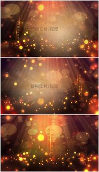 梦幻粒子光效教师节edius视频模板