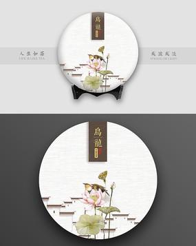 中国风茶饼包装设计