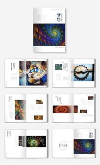 简洁装饰画册