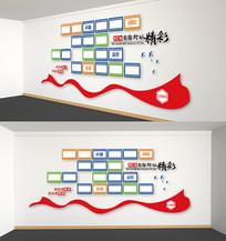 企业照片墙员工风采墙立体展板