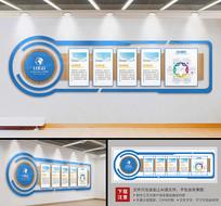 异形企业立体文化墙设计