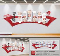 异形企业文化墙设计