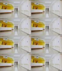 护士站走廊情景剧LED舞台背景视频素材