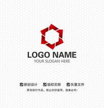 六边形科技医疗LOGO设计
