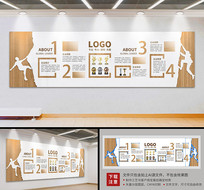 木风企业价值观文化墙