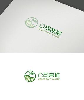 简约农业logo设计