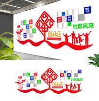 企业社区社员团队风采文化墙