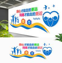 企业团队团结励志标语文化墙