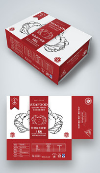阳澄湖大闸蟹包装盒设计