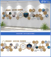 企业发展历程形象背景照片墙