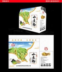 小麦粉礼盒包装设计