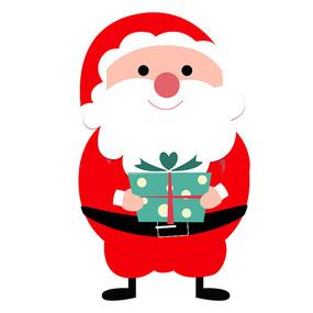 原创元素-圣诞老人