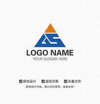 GS字母工程建设LOGO设计