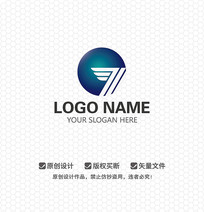 GT字母航空航天LOGO设计