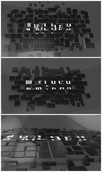拼图片头视频模板