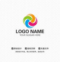 四色时尚LOGO设计