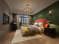 现代女儿房3d模型含高清效果图