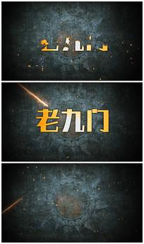 震撼电影片头logo视频模板